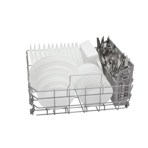"""Bosch SHX3AR72UC Ascenta 24"""" Tall Tub Built-In Dishwasher with Stainless-Steel White"""