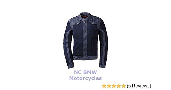 BMW Genuine Motorrad Motorcycle Men Venting Denim / Mesh Riding Jacket Size 54