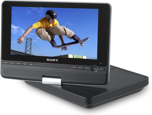 Sony DVPFX810 8-Inch Portable DVD Player, Black