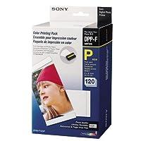 Sony Papier pour imprimantes 120 feuilles 10x15 + rouleau encreur FP30/FP50 SVMF120P.AE