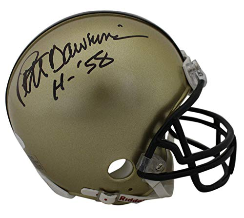Pete Dawkins Autographed Army Black Knights Mini Helmet Heisman JSA from DenverAutographs