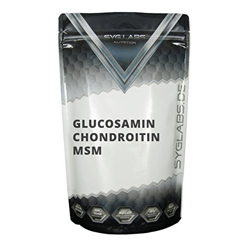 Syglabs Nutrition Glucosamin Chondroitin MSM - 500 Tabletten, 1er Pack (1 x 375 g)
