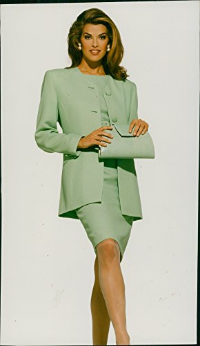 Vintage photo of Cindy Crawford American model. (Cindy Crawford Photos)