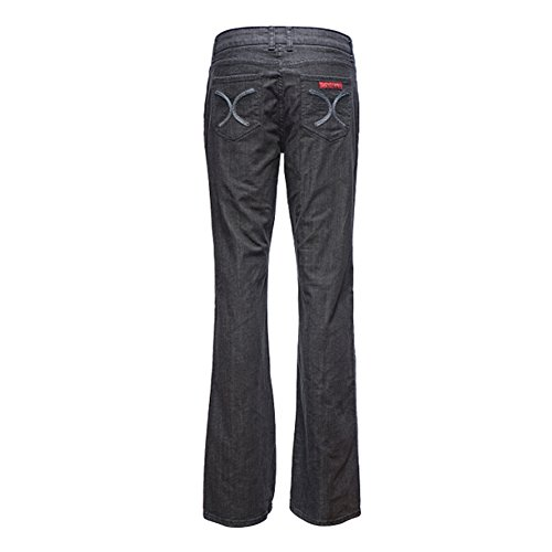 5xl Nappe Micro bell Grigio bottom Zampa D'elefante Casual Lunghi Sciolto Grande M A Jeans Donna Pantaloni Mena xZnqYSqz