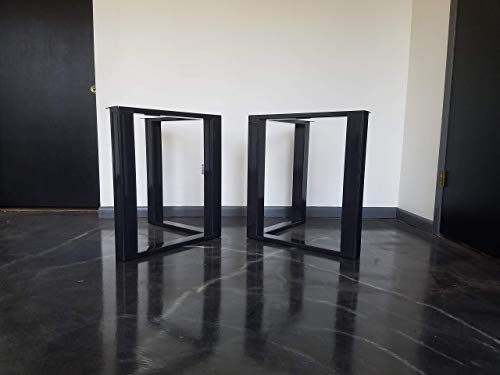 Metal Table Legs, HD Triangular Style - Any Size and Color