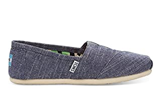 TOMS Women's Canvas Slip-On in Chambray, 6.5 (B00VKIOVL0) | Amazon price tracker / tracking, Amazon price history charts, Amazon price watches, Amazon price drop alerts