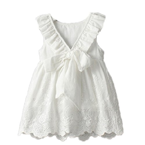 Huaqiang fashion Bear Leader Girl Dress Princess Costume NEW Brand Silk Chiffon Kids Clothes Girls Dresses Leopard Print Children Dress White 3T - Jack And Jill Costume Sale
