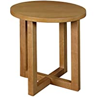 Regency Chloe 21-inch Round End Table- Medium Oak