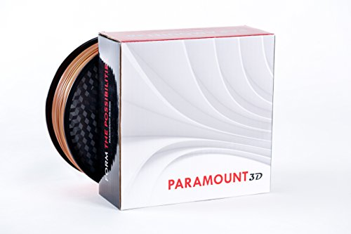 Paramount 3d pla (Pantone Terra Cotta 7591 C) filamento de 1,75 mm 1 kg [brrl30127591 C]: Amazon.es: Amazon.es
