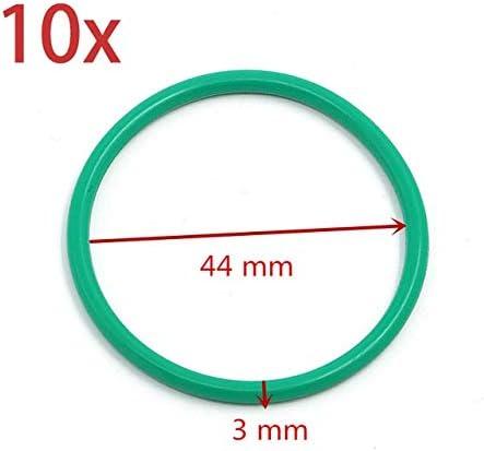 Xingfuqy 10 X Pot d/échappement Joint de collecteur Joint for KTM SX GasGas Husqvarna TE EXC EC 125 250 300 joint torique du tuyau d/échappement /à jour Color : 10 x