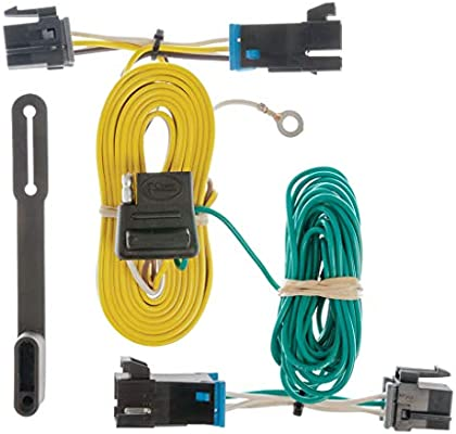CURT 55540 Vehicle-Side Custom 4-Pin Trailer Wiring Harness for Select on chevy cruze trailer wiring harness, chevy express trailer brake wiring, chevy express towing, chevy trailer wiring harness diagram, chevy colorado trailer wiring harness, chevy express roof rack, chevy 3500 trailer wiring, chevy express cruise control, chevy blazer trailer wiring harness, chevy express door locks, chevy express van, chevy express seat covers, chevy express tires,