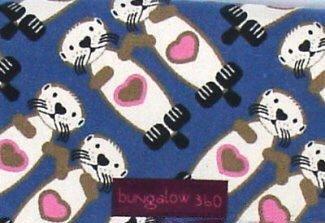 Bungalow360 Lana Vegan Wristlet Sea Otter