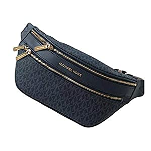 Kenly Medium Logo Belt Bag Waist Pack Crossbody Bumbag Blue Logo