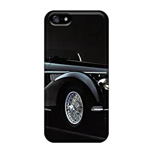 Ultra Slim Fit Hard AlexandraWiebe Specially Made For Iphone 5/5S Phone Case Cover - Alfa Romeo 8c 2900b Spider '1938