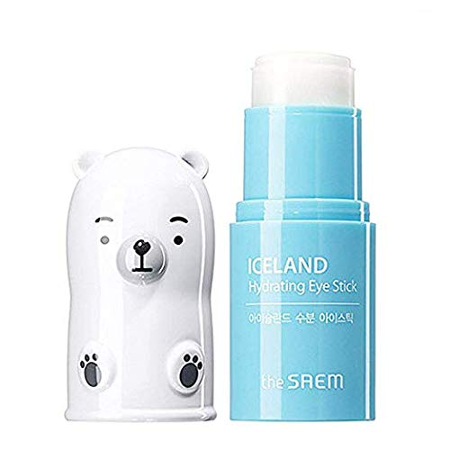 [the SAEM] Iceland Hydrating Eye Stick for puffy eyes 7g 0.24oz (Best Japanese Makeup Products)