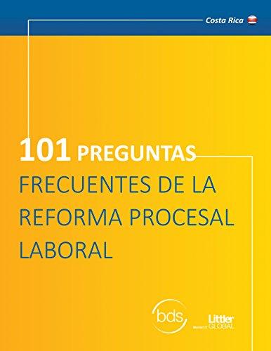 101 Preguntas Frecuentes sobre la Reforma Procesal Laboral PDF