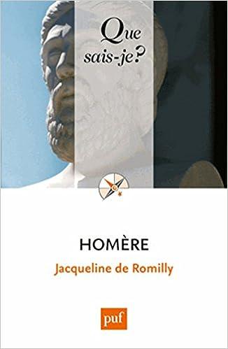 Homère - Jacqueline de Romilly