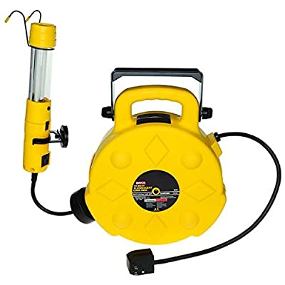 Bayco SL-8907 13-Watt Fluorescent Spot/Work Light with 50-Foot Reel