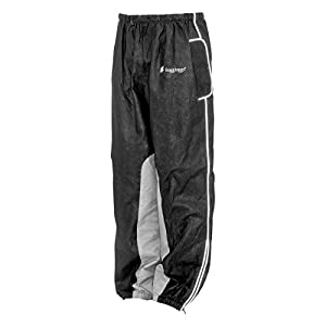 Frogg Toggs FT83133-01XL Road Toad Reflective Rider's Pant, Black