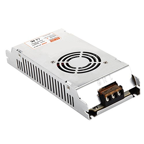 24V Power Supply 15A 360W BVPOW DC Universal Regulated LED Driver Low Voltage Transformer Power Adapter for LED Strip light,CCTV Camera, Radio, Computer Project, Automation