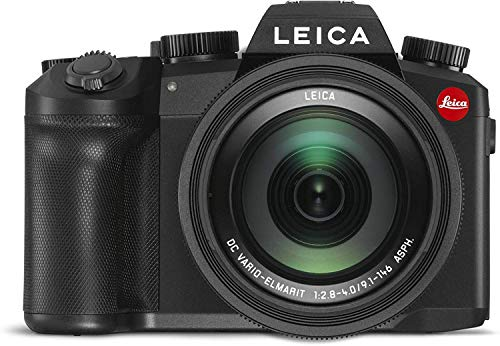 Leica V-Lux 5 20MP Superzoom Digital Camera with 9.1-146mm f/2.8-4 ASPH Lens (Black) from Leica