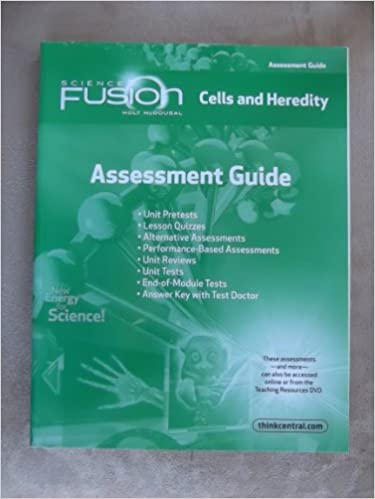 Amazon com: ScienceFusion: Assessment Guide Grades 6-8