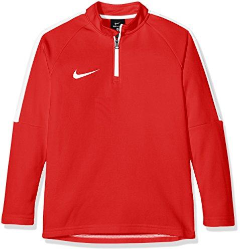 Nike 839358 Felpa university Bambino bianco Rojo 451 bianco Rosso 6U6nPar