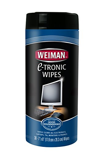 Weiman E Tronic Wipes 30 count
