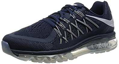 Nike Men's Air Max 2015 Obsidian/Wolf Grey/Black Running Shoe 8 Men US