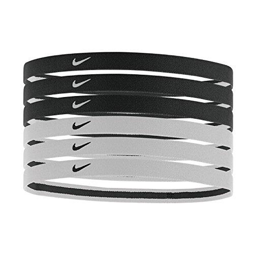 Nike Swoosh Sport Headbands 2.0 (Black and white)
