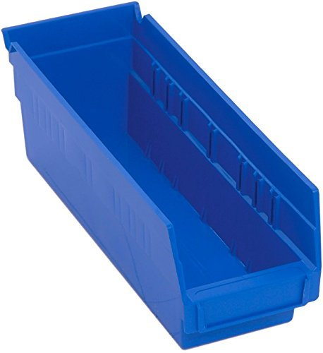 - Quantum Storage Systems K-QSB101BL-10 Economy Shelf Bins, 11-5/8