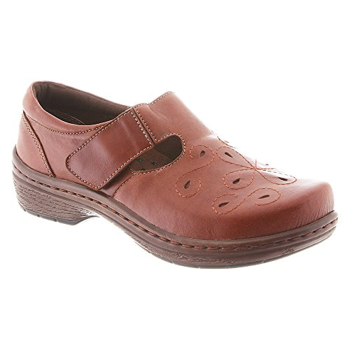 Klogs USA Womens Brisbane Mule Cognac Tintoretto