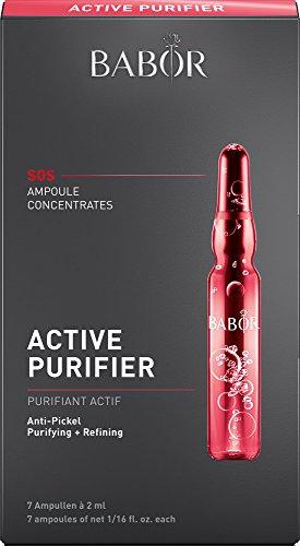 BABOR AMPOULE CONCENTRATES Active Purifier, Ampullen für unreine Haut und Pickel, mit Teebaumöl, 7 x 2 ml