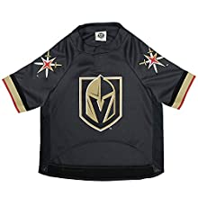 NHL Las Vegas Golden Knights Jersey for Dogs & Cats, Small. - Let Your Pet Be A Real NHL Fan!