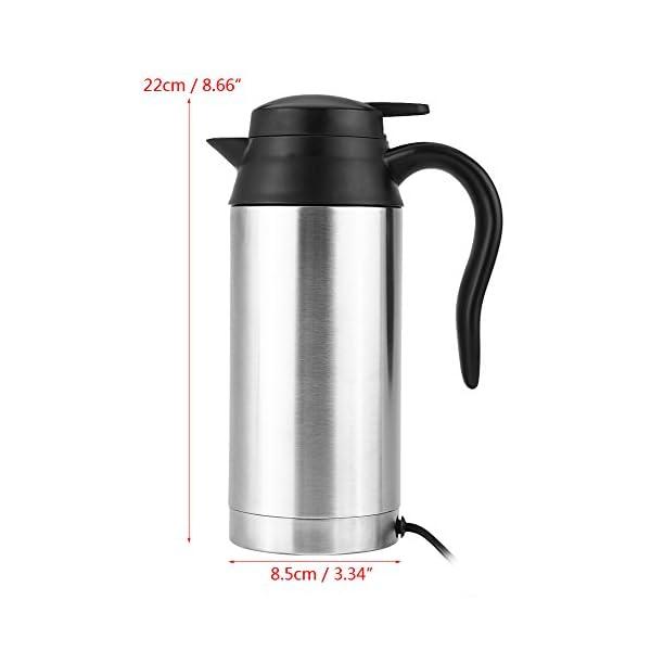 41KujlQaiBL 750 ml 12 V Wasserkocher, Auto Edelstahl Zigarettenanzünder Heizung Wasserkocher Becher Elektrische Thermoskanne zum…