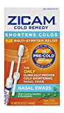 Zicam Cold Remedy Nasal Swabs with Cooling