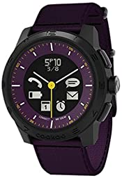 COOKOO Smart Bluetooth Connected Watch - Purple