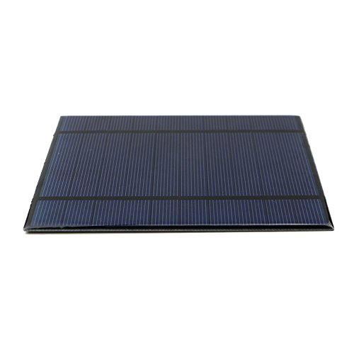 AMX3d 2.5W 5V/500mAh Epoxy Solar Panel/Solar Cell for DIY Portable Power, Battery Charger, Kit for Battery Power ()