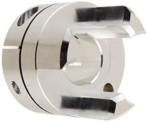 Set Screw Type A2017 Aluminum 20 mm and 25 mm Bore Diameter NBK MJC-55-GR-20-25 Jaw Flexible Coupling