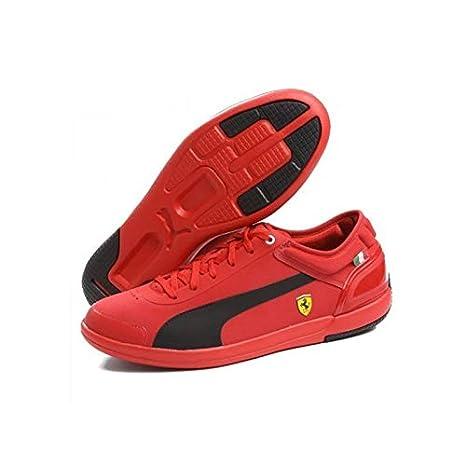 cheap for discount 165f1 479b7 Puma Scarpe Ferrari Driving Power Rosso Taglia 41: Amazon.it ...