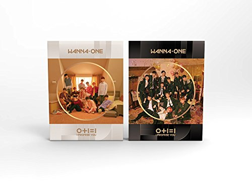 WANNA ONE - 0+1=1 I PROMISE YOU (2nd Mini Album) [Day+Night ver. SET] 2CD+Photobook+Photocard+Mirror Card+Tazo+2Folded Poster+Free Gift (I 1 1)