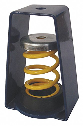 Hanger Mount Vibration Isolator, Spring Isolator Type, 230 to 310 lb. Capacity Range by GRAINGER APPROVED (Image #1)