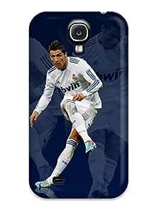 Bruce Lewis Smith RifBaTX4880BvfaR Protective Case For Galaxy S4(cristiano Ronaldo Real Madrid )