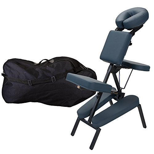 Inner Strength Portable Massage Chair Package ELEMENT - Incl. Deluxe Adjustable Face Cradle, Pillow & Soft Carrying Case