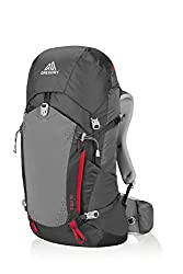 Gregory Mountain Products Zulu 40 Liter Men's Backpack, Feldspar Grey, Medium