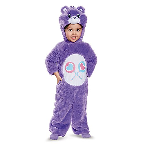 Share Bear Halloween Costume (Share Bear Deluxe Plush Costume-Care Bears Costume, Medium/3T-4T)