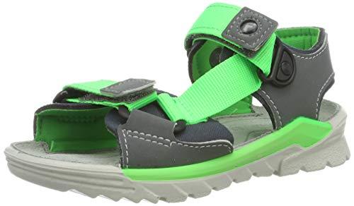 Ricosta Boys' Bob Ankle Strap Sandals Grey (Graphite/Teer 450) 13 UK ()