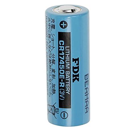Batería de litio de Sanyo CR17450E: Amazon.es: Electrónica