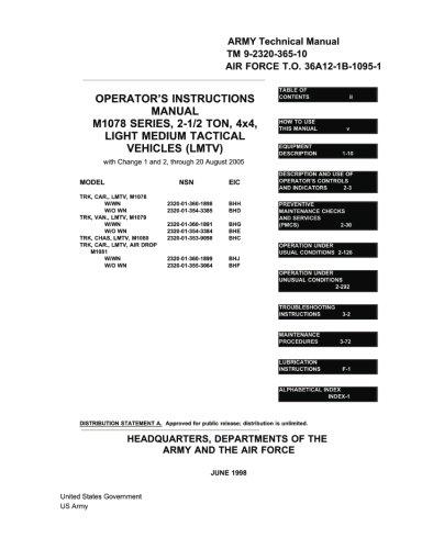 Instruction Operator Manual - 8
