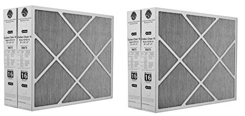 Clean 16 MERV 16 Filter 20-Inch x 25-Inch x 5-Inch (2 X Pack of 2) ()